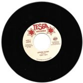 SALE ITEM - Tony Tuff - Upside Down / Tommy Trouble - Wah Fi Hol Dem (Tesfa Records / TRS) 7""